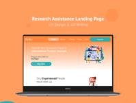 Web Landing Page UX Design & Writing