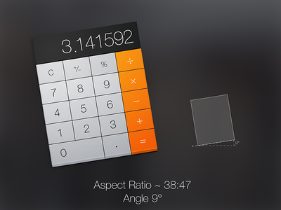 OSX  Yosemite Calculator