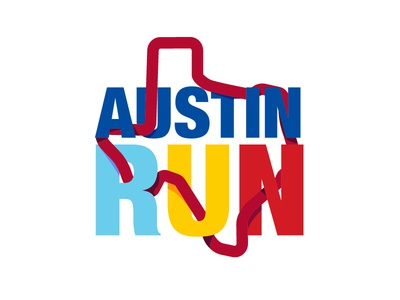 #ThirtyLogos Day 7 Austin Run thirtylogos run logo imnotgoodataddingtags graphic design austin