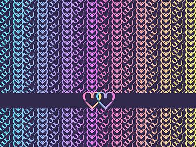 pattern adobe illustrator heart colors colorful background logodesigner logotype logo design logo pattern design pattern
