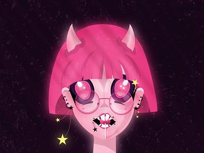 YUKI adobe illustrator digitalart portrait illustration anime girl anime girl character girl illustration illustration