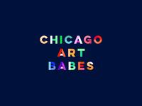 Chicago Art Babes Alt Logo