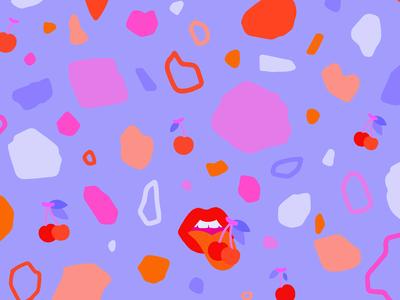Sweet Cherry Terrazzo