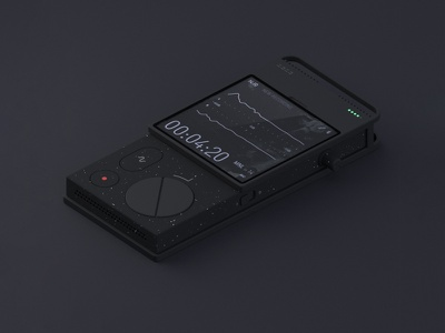 field recorder voice music sound record fieldrecorder ux product design ui