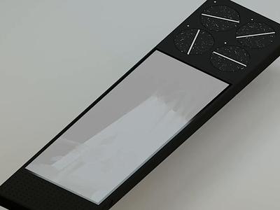 editor blender 3d product music design ux ui