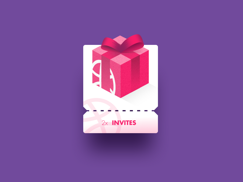 Day 97 - Give Away ux ui dailyui invite
