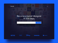 Day 100   redesign dailyui bigger