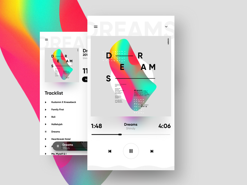 coverdesign poster abstract ux ui music cover