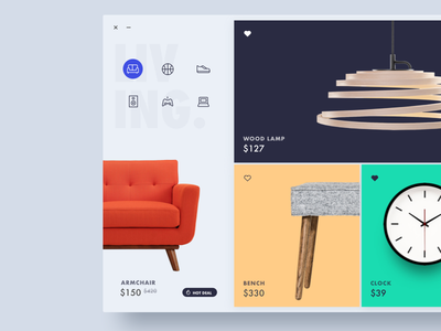 shop dashboard minimal ux ui shop