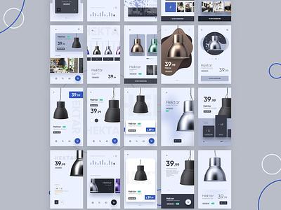 Hektar ikea shop product design ux ui