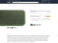 Amazon redesign green