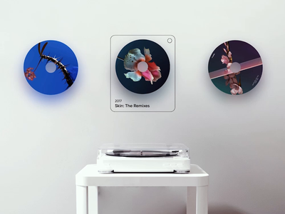 AR music library design augmentedreality ar dailyui music ux ui