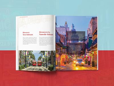 Travel Magazine publication magazine design