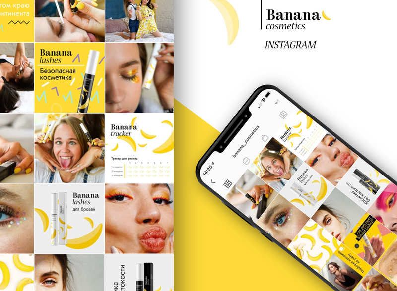 Banana Cosmetics Instagram