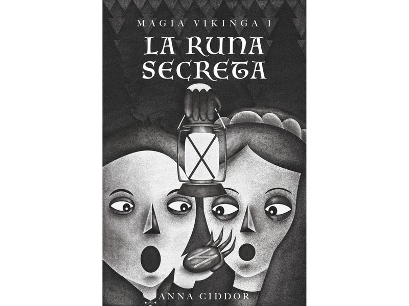 """Anna Ciddor's """"Runestone"""" book cover"""