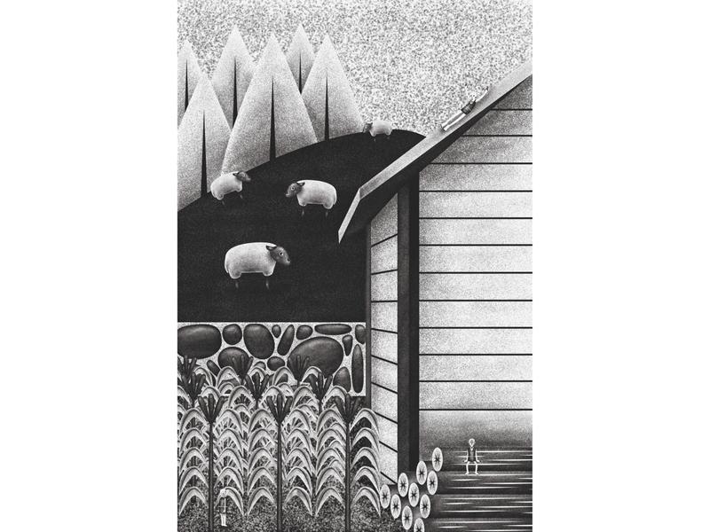 Oddo's farm (single page illustration)