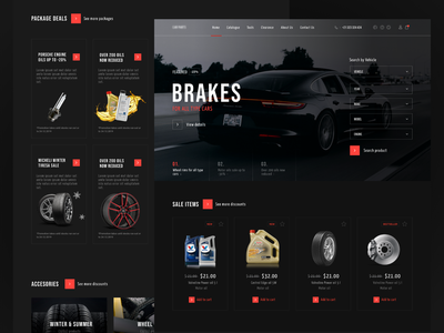 Car parts platform desktop ecommerce shop ecommerce web design webdesign interaction design interaction interface ui ux product design