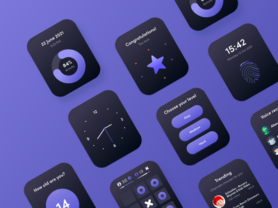 iwatch game smartwatch iwatch watches activity winner level tic tac toe graphic design watch mobile interaction app mobile app design interaction design ui ux interface product design game