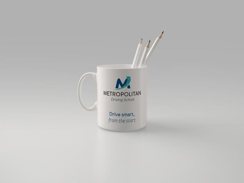 Metropolitan Driving School logo