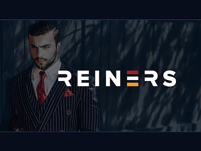 Reiners identity fashion logo