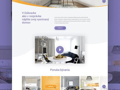 Dubravy design ux ui webdesign web responsive website