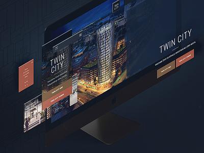 Web page webdesign web ux ui building 3d