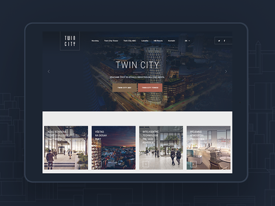 New case study at behance study case city flat design web