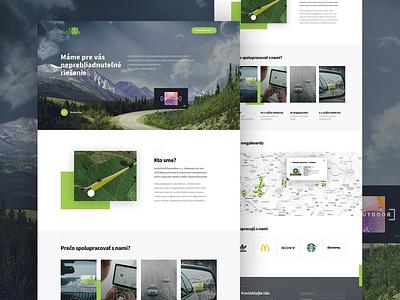 eccooutdoor website ui ux webdesign branding web design