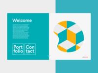 Portfolio Landing page [Branding] [Mockup]