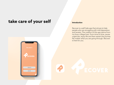 Recover app/ UIUX Project