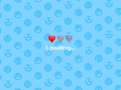 Lottie Emoji Series Teaser app ux ui design character animation svg motion design motion icon design icon set icons icon emoji set emojis emoji lottiefiles lottie