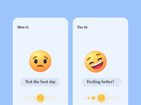 Emojis for Mood Tracker Apps
