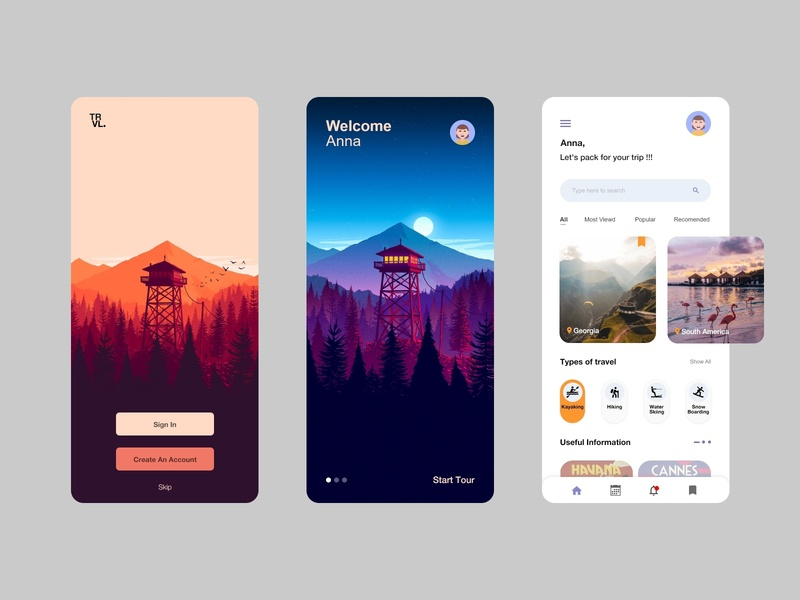 Traveling app concept categories search discover travel agency tours icons webdesign mobile mobile design user interface interface user experience ui tourism mobile app design traveling