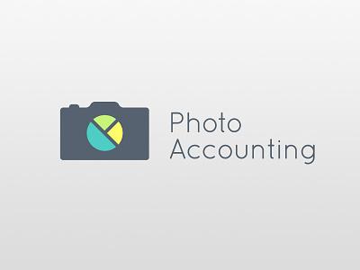 Photoaccounting Logo logo design symbol accounting camera branding