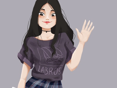 People Practice #1 clothes street clothes street fashion practice painting 2d art illustration street korean fashion