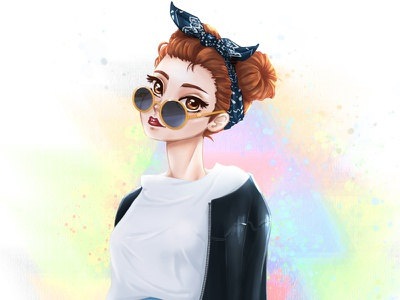 People Practice #3 photoshop painting outfit practice ootd fashion korean drawing illustration people