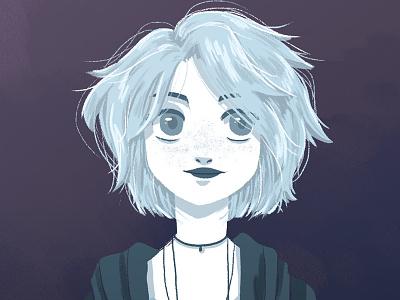 Riley game game art sketch character art lady girl illustration character sense 8 riley