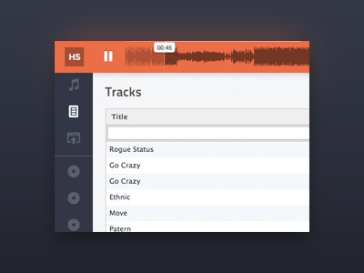 HTML mp3-player
