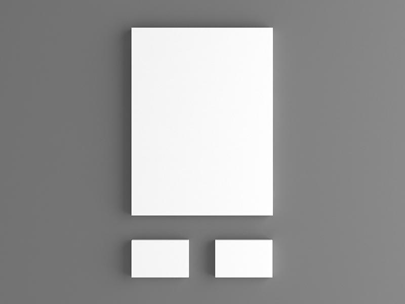 Stationary Mockup Template mockup letterhead letter briefpapier business card visitenkarte brief papier paper stationary