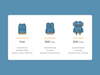 Daily UI challenge #01 — Pricing