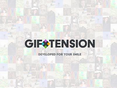 GIFxTension logo gifxtension gif product design graphic design logo