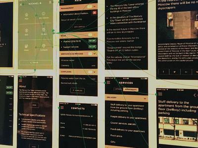 Mercury City Tower App Workflow