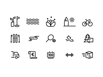 Sport Icons For Free freebie free icons free vector lines icons