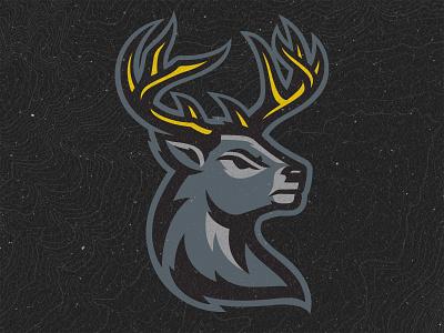 Iowa Heartlanders Brand Identity branding stag logos hockey sports buck deer heartlanders iowa