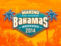 Dan Marino and Friend Bahamas Weekend