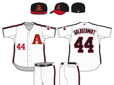Arizona Diamondbacks Fauxback Uniform