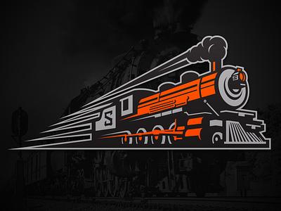 Spokane Empire Train Logo ifl football branding sports empire spokane