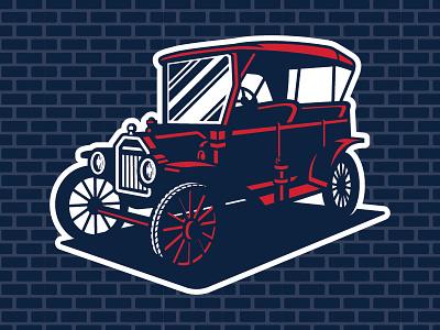 MiLB 2017 Promotional Seminar — 3/4 Model-T Theme Art car minor league baseball baseball sports branding milb