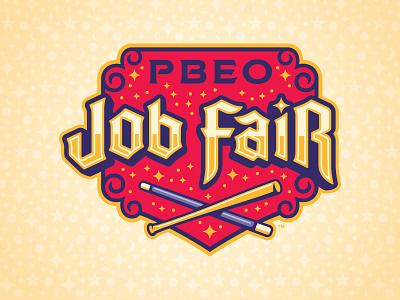 2017 PBEO Job Fair Mark magic minor league baseball baseball sports branding milb