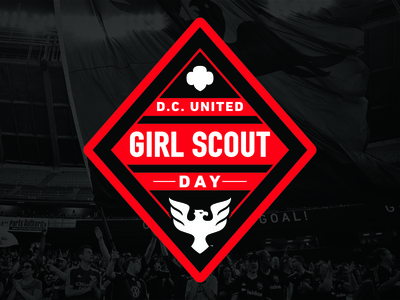 DC United Girl Scout Day Patch